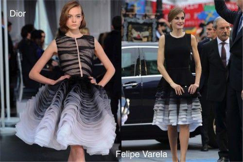 EL CLONADOR : la falda de Christian Dior.