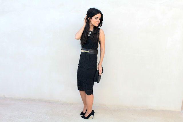 top y falda encaje