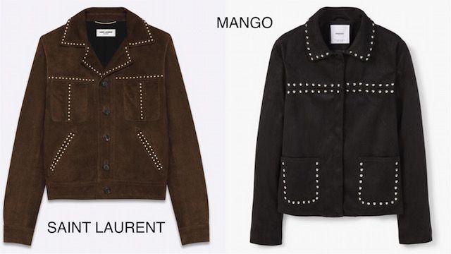 Clones de Valentino, Céline y Saint Laurent...