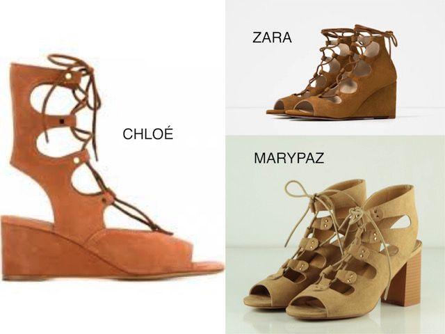sandalias de Chloe