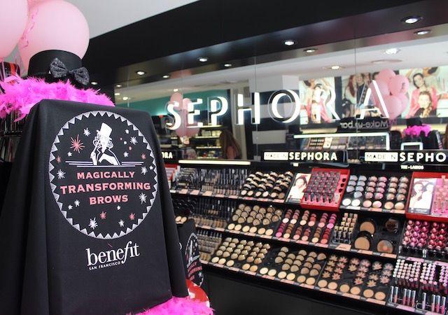 Masterclass de Benefit en Sephora