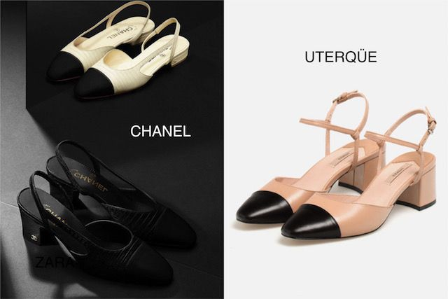 zapatos bicolor