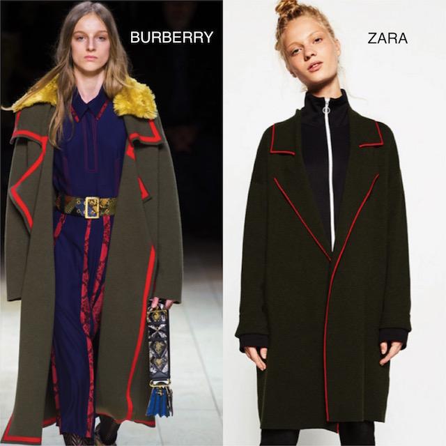 clones3-  abrigo militar de Burberry