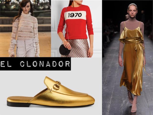 EL CLONADOR : Isabel Marant, Gucci, Mr & Mrs,….