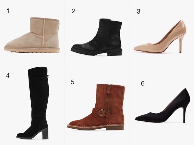 selección de zapatos - esprit
