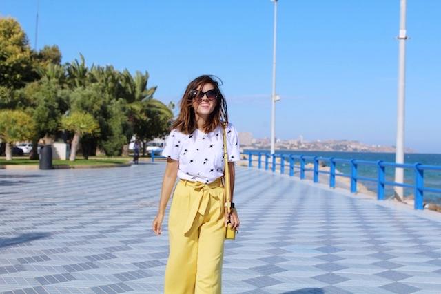 culotte amarillo