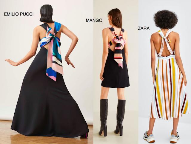vestido de Emilio Pucci