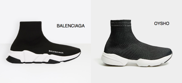 zapatillas tipo calcetín