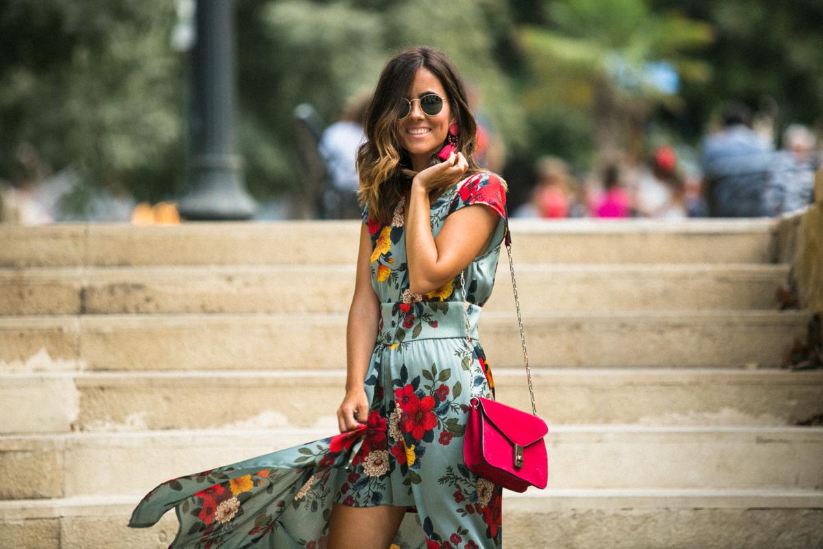 volumen grande sitio web para descuento nueva llegada mono vestido estampado floral de Zara | Cuélate en mi vestidor