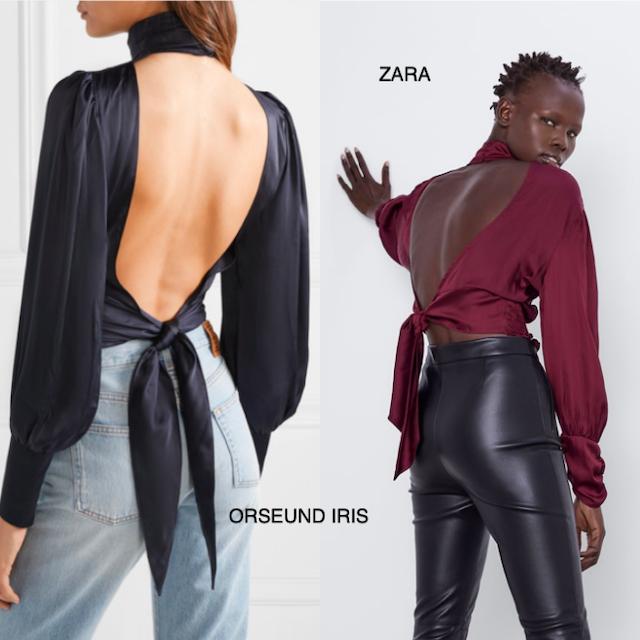 blusa Zara - clones - botas cowboy