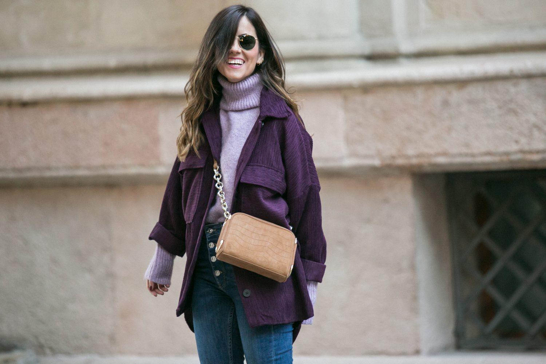 sobrecamisa de pana de Zara