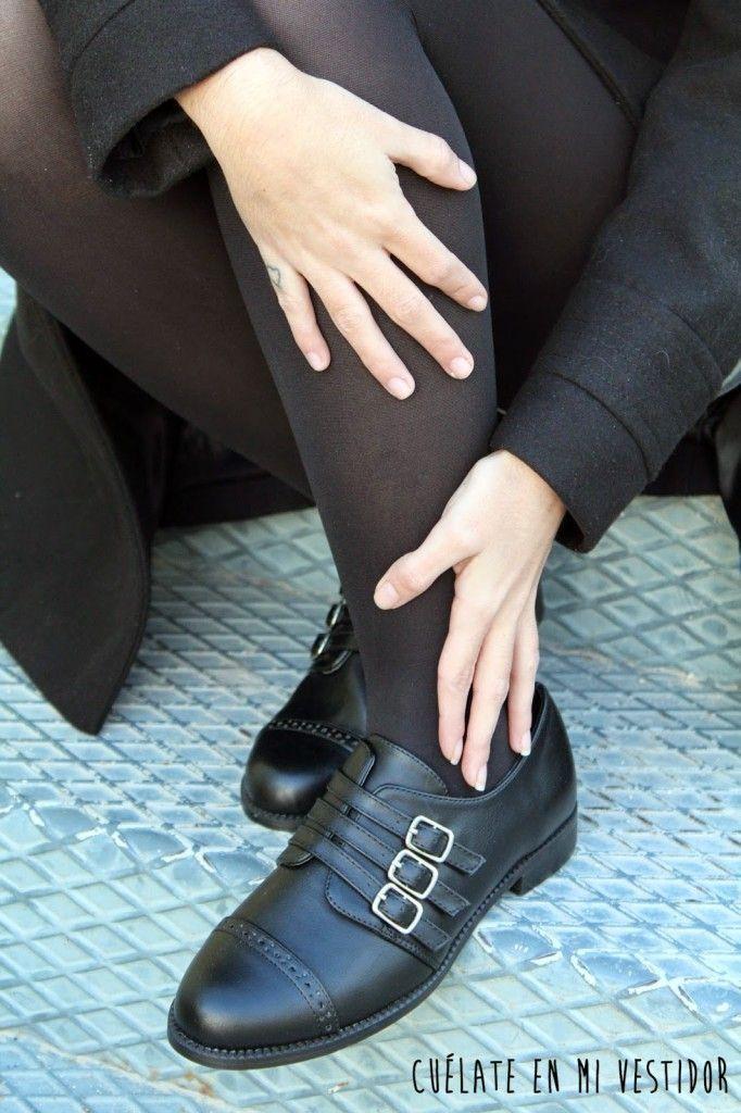 zapatos de hebillas