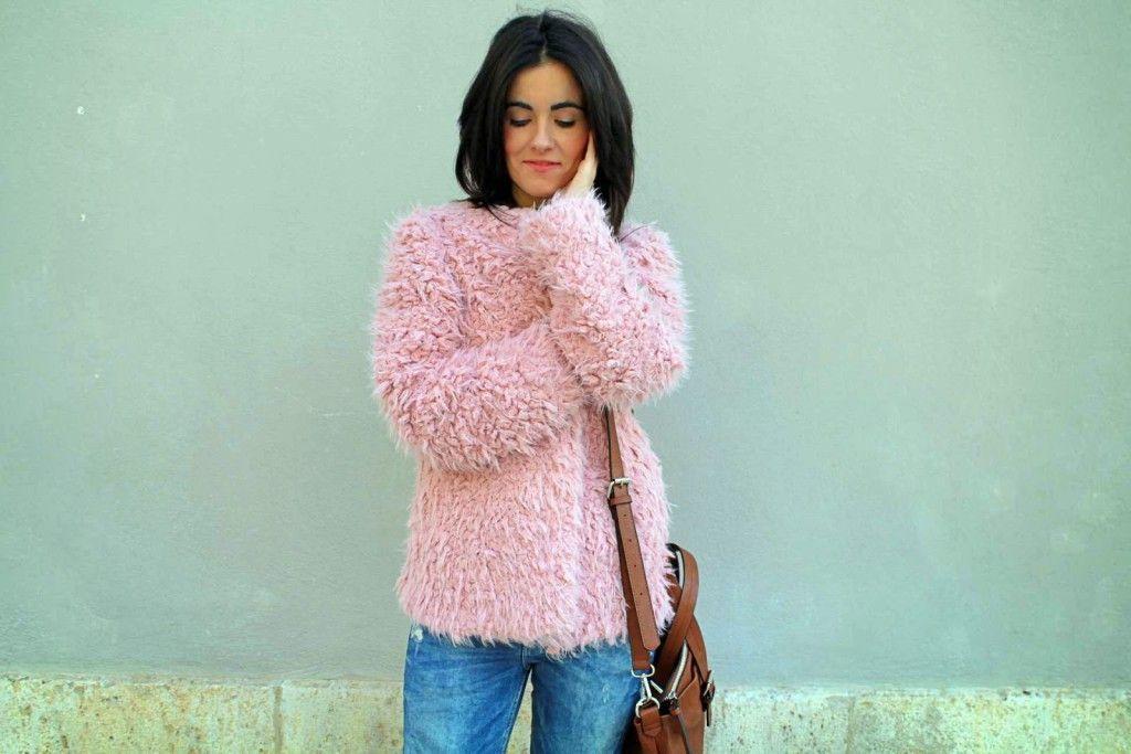 abrigo pelo de Zara