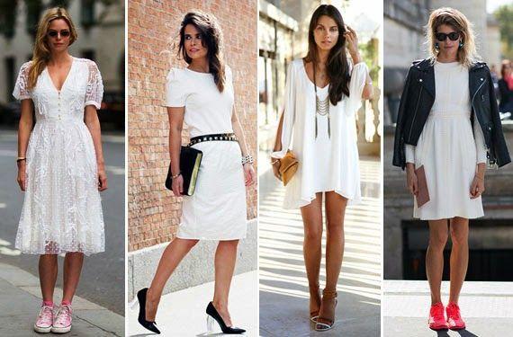 Vestidos blancos MUY primaverales