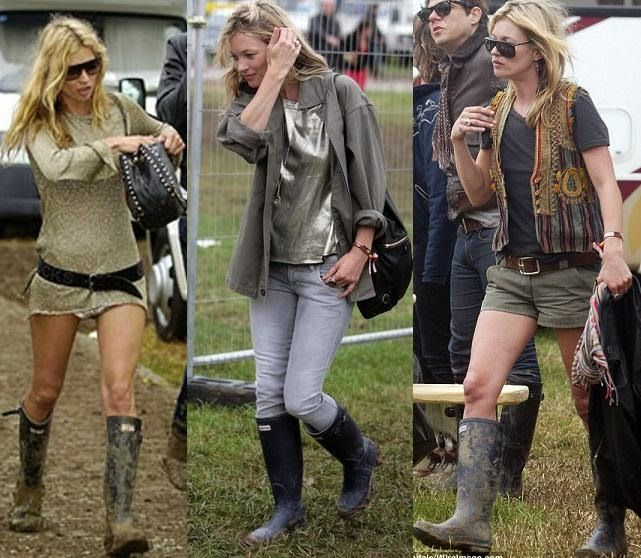 how to wear hunter boots in summer